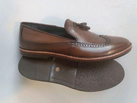 """Обувь ручной работы. Ярмарка Мастеров - ручная работа. Купить Мужские лоферы""""Чино"""". Handmade. Мужская обувь, мужские лофер"""