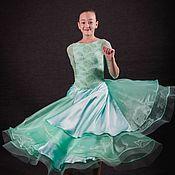 """Одежда ручной работы. Ярмарка Мастеров - ручная работа Платье для бальных танцев (стандарт) """"Youth Love"""". Handmade."""