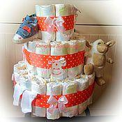 Подарки к праздникам ручной работы. Ярмарка Мастеров - ручная работа Тортик для девочки. Handmade.