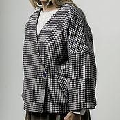 """Одежда ручной работы. Ярмарка Мастеров - ручная работа Жакет утеплённый """"лапка"""". Handmade."""