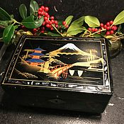 Винтаж handmade. Livemaster - original item Music box