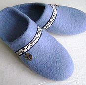 Обувь ручной работы. Ярмарка Мастеров - ручная работа Тапочки Домашний уют. Handmade.