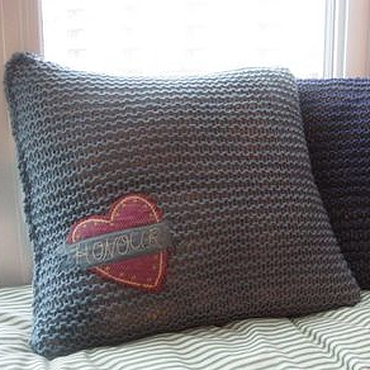 Textiles handmade. Livemaster - original item Soft buddy Pillowcase on pillow. Handmade.