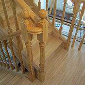 Для дома и интерьера ручной работы. Ярмарка Мастеров - ручная работа Лестницы из лиственницы. Handmade.