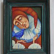 """Картины и панно ручной работы. Ярмарка Мастеров - ручная работа Картина """"Синяя птица"""". Handmade."""