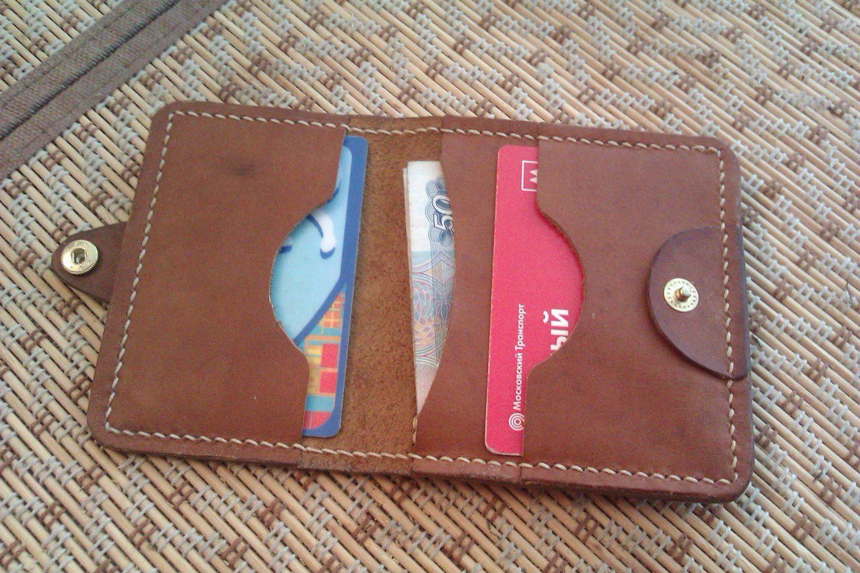 Кожаные портмоне своими руками фото 10