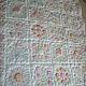 """Пледы и одеяла ручной работы. Ярмарка Мастеров - ручная работа. Купить """"Летний сад"""". Handmade. Розовый, подарок для девочки, синтепон"""