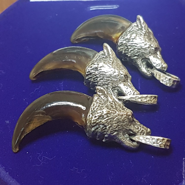 Коготь волка в серебряной голове, Подарки, Москва, Фото №1