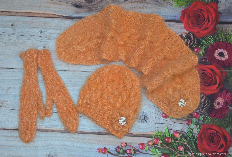 Set down 'Orange autumn' female, Accessories kits, Urjupinsk,  Фото №1
