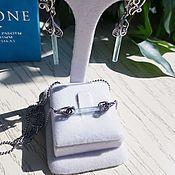 Украшения handmade. Livemaster - original item Set with aquamarine. Handmade.