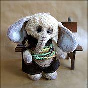 Куклы и игрушки ручной работы. Ярмарка Мастеров - ручная работа Слонёнок Гарик. Handmade.