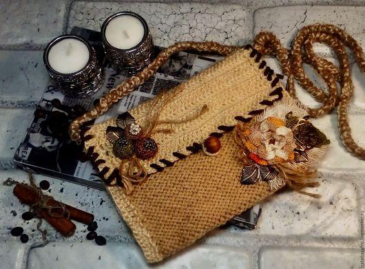 Комплекты украшений ручной работы. Ярмарка Мастеров - ручная работа. Купить Комплект Песочный. Вязаный крючком. Handmade. Бежевый