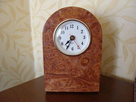 Часы для дома ручной работы. Ярмарка Мастеров - ручная работа. Купить Часы настольные деревянные Клён. Handmade. Комбинированный, фанера