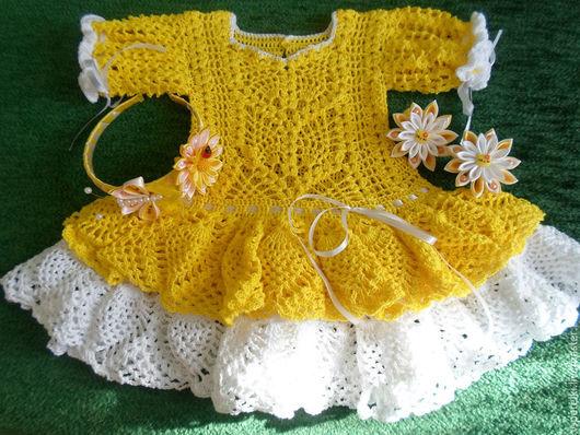 Нарядное летнее платье `Солнышко`