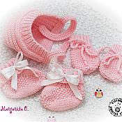 Вязание царапки для новорожденных 459