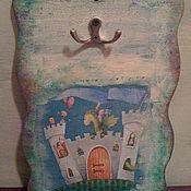 Для дома и интерьера ручной работы. Ярмарка Мастеров - ручная работа Ключница с драконами в стиле винтаж, декупаж. Handmade.