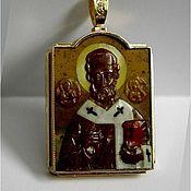 Украшения handmade. Livemaster - original item Icon of St. Nicholas. Handmade.