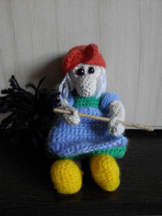 Сказочные персонажи ручной работы. Ярмарка Мастеров - ручная работа. Купить Баба-Яга. Handmade. Игрушка ручной работы, игрушка