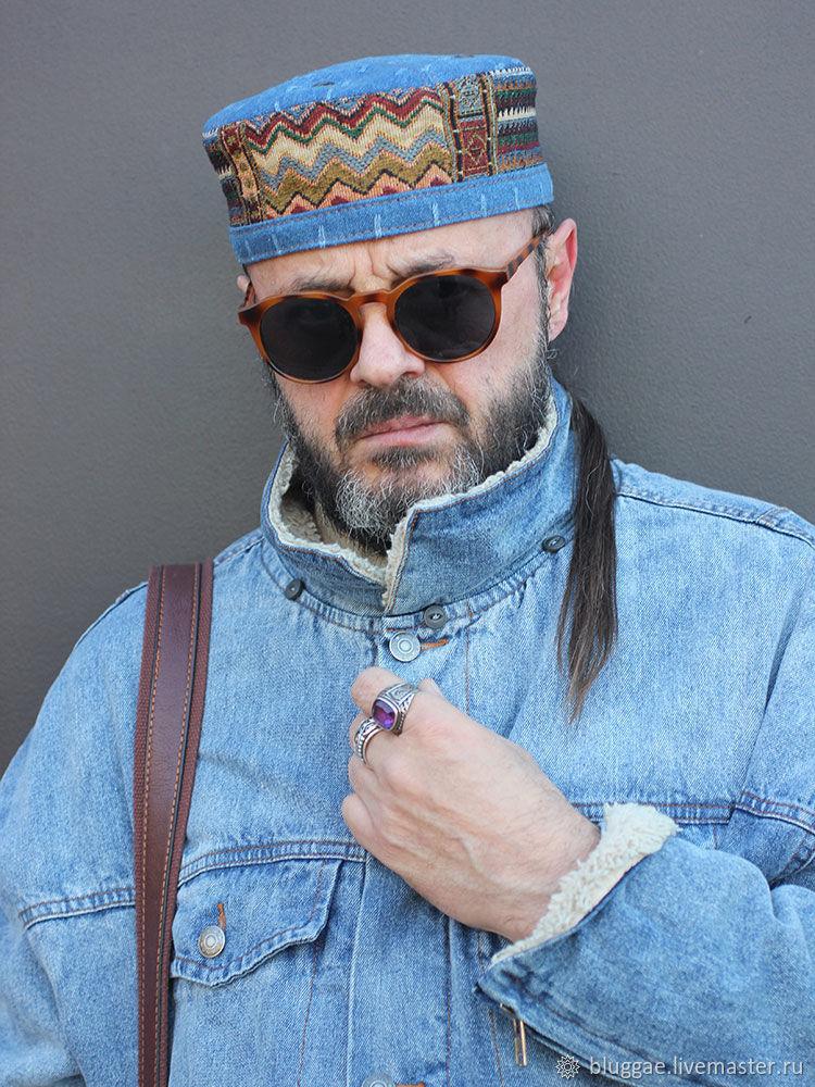 4244fd89aedac Hats handmade. Livemaster - handmade. Buy African cap kufi skullcap  Marrakech MRK-07 ...