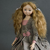 Куклы и игрушки handmade. Livemaster - original item Author`s collectible interior doll Kristina.. Handmade.