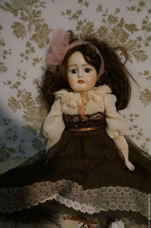 Коллекционные куклы ручной работы. Ярмарка Мастеров - ручная работа. Купить Жозефина. Handmade. Комбинированный, кукла ручной работы, крепдешин