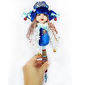Куклы и игрушки ручной работы. Ярмарка Мастеров - ручная работа Маротте 2, авторская кукла для привлечения удачи. Handmade.