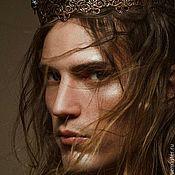 Украшения handmade. Livemaster - original item Crown for photo shoots, men`s corona unisex. Handmade.