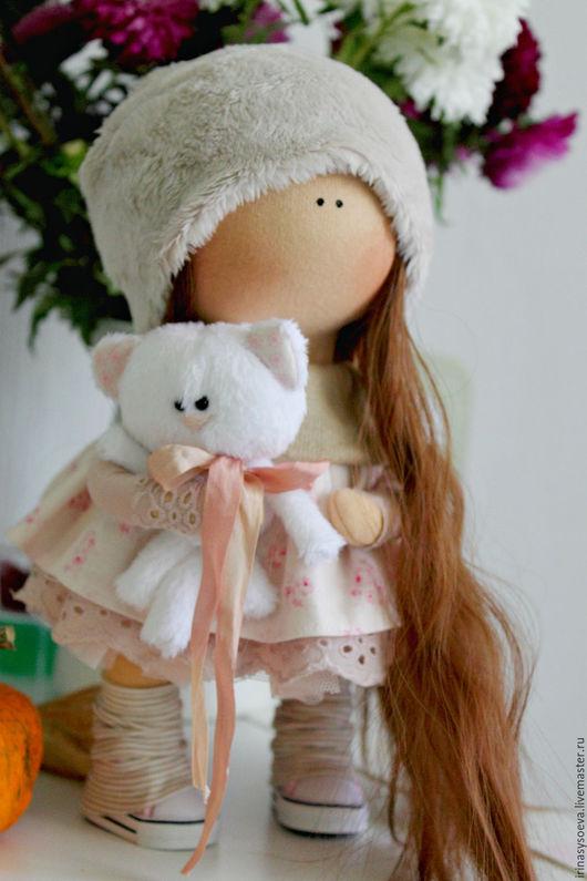 Коллекционные куклы ручной работы. Ярмарка Мастеров - ручная работа. Купить Виктория. Handmade. Бледно-розовый, кукла ручной работы