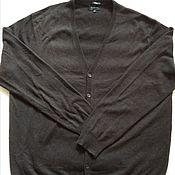 Винтаж handmade. Livemaster - original item Men`s cardigan, 100 % cashmere, vintage Germany. Handmade.