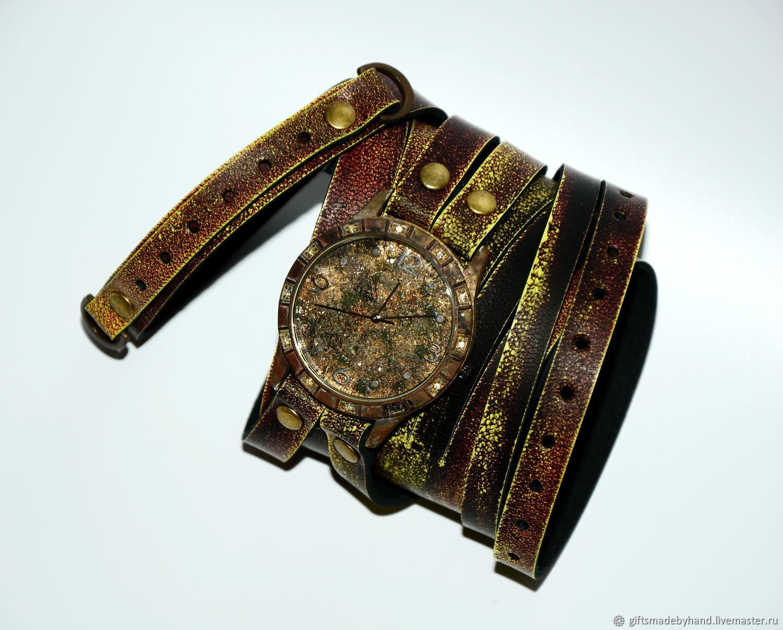 3a32bb682071 Наручные часы ручной работы. Ярмарка Мастеров - ручная работа. Купить  Стимпанк часы.