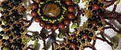 """Украшения ручной работы. Ярмарка Мастеров - ручная работа Колье и серьги """"Краски осени"""". Handmade."""