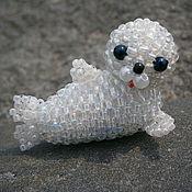 Куклы и игрушки ручной работы. Ярмарка Мастеров - ручная работа Детеныш байкальской нерпы. Handmade.
