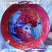 """Посуда ручной работы. Ярмарка Мастеров - ручная работа Тарелка """"Кусочек Венеции"""". Handmade."""