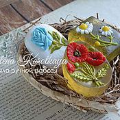 """Мыло ручной работы. Ярмарка Мастеров - ручная работа """"Любимые Цветы"""" Набор мыла ручной работы. Handmade."""