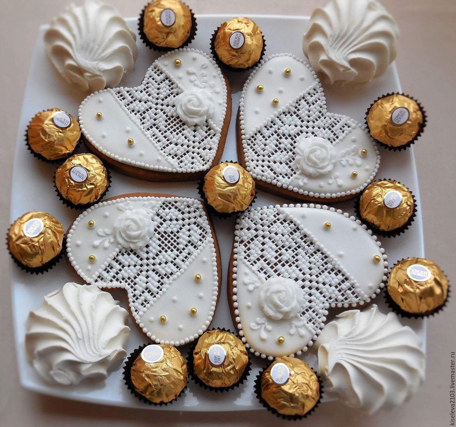 Gingerbread Gingerbread Hearts Culinary Souvenir Handmade Shop Online On Livemaster With Shipping 60iuhcom Dubna