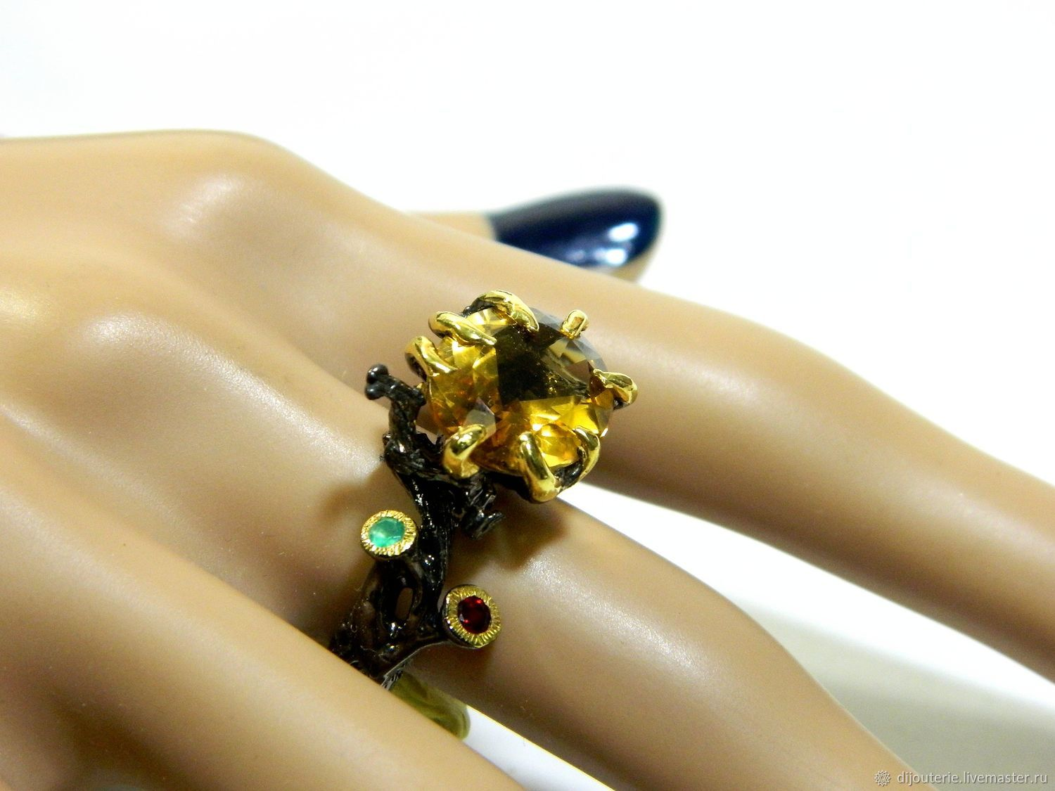 Ring with citrine, Rings, Saratov,  Фото №1