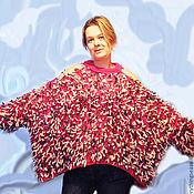 """Одежда ручной работы. Ярмарка Мастеров - ручная работа """"Зимняя Ягода""""  фантазийный свитер. Handmade."""