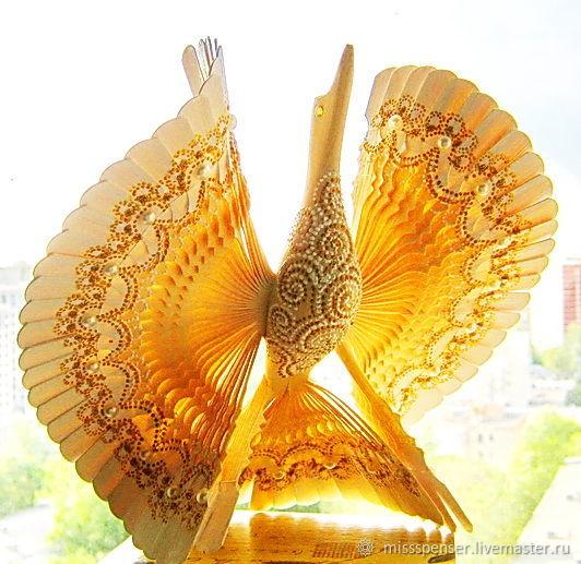 Подарки на свадьбу ручной работы. Ярмарка Мастеров - ручная работа. Купить Птица счастья Золотая сказка, старинный оберег для семьи. Handmade.