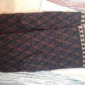 Аксессуары handmade. Livemaster - original item Mittens mens brown. Handmade.
