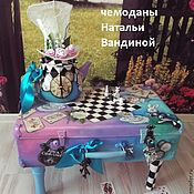 Для дома и интерьера handmade. Livemaster - original item Suitcase for Alice. Handmade.