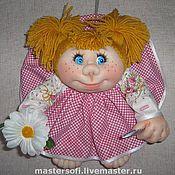 """Куклы и игрушки ручной работы. Ярмарка Мастеров - ручная работа Кукла попик """"кукла на удачу"""". Handmade."""