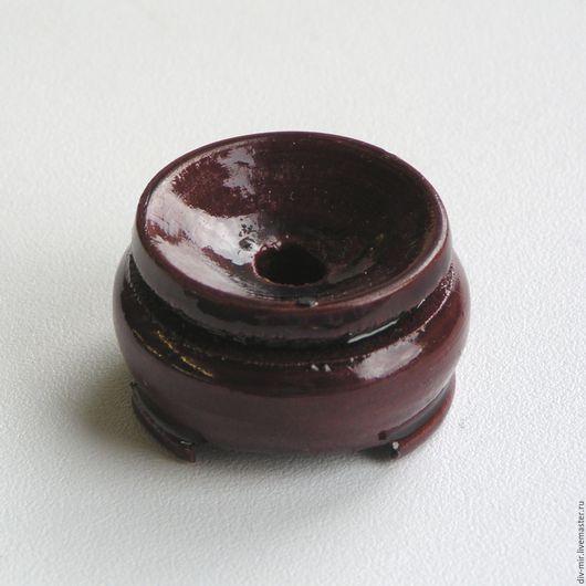 Другие виды рукоделия ручной работы. Ярмарка Мастеров - ручная работа. Купить Подставка под шар деревянная 30 мм. Handmade.