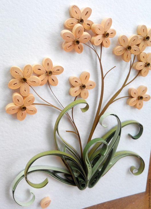 Открытки на все случаи жизни ручной работы. Ярмарка Мастеров - ручная работа. Купить Фантазийные цветы. Handmade. Комбинированный
