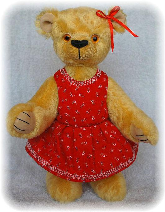 Мишки Тедди ручной работы. Ярмарка Мастеров - ручная работа. Купить Мила. Handmade. Мишка, оригинальный подарок, шплинты