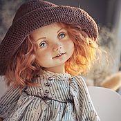 Куклы и пупсы ручной работы. Ярмарка Мастеров - ручная работа ИРИСКА Кукла коллекционная ручной работы. Handmade.