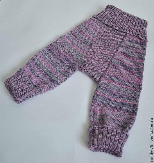 Одежда унисекс ручной работы. Ярмарка Мастеров - ручная работа. Купить Штанишки для малышей. Handmade. Разноцветный, одежда для слингоношения