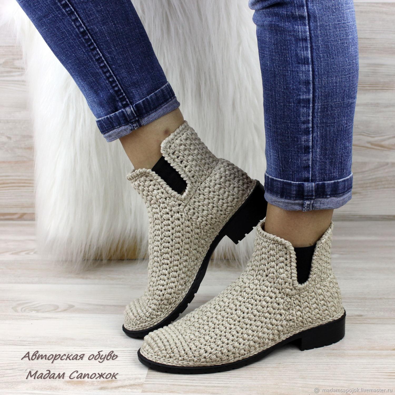 Chelsea Boots womens flax, Boots, Nizhny Novgorod,  Фото №1
