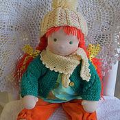 Куклы и игрушки ручной работы. Ярмарка Мастеров - ручная работа Пеппи с одеждой. Handmade.