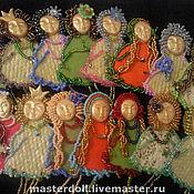 """Украшения ручной работы. Ярмарка Мастеров - ручная работа Броши """"Мои любимые куклы"""". Handmade."""