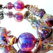 Украшения handmade. Livemaster - original item Bracelet Lilac whim. Handmade.